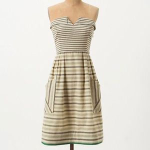 Maeve strapless dress from Anthropologie